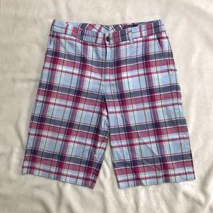 Polo by Ralph Lauren Plaid casual shorts- Waist 32